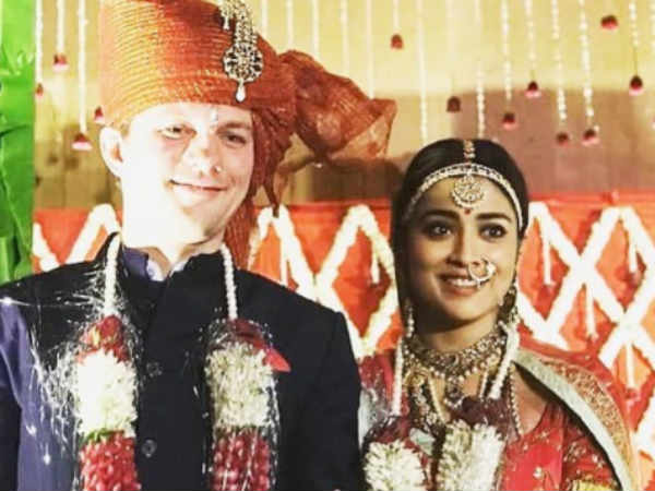shriyasaran-weddingpictures thinatamil