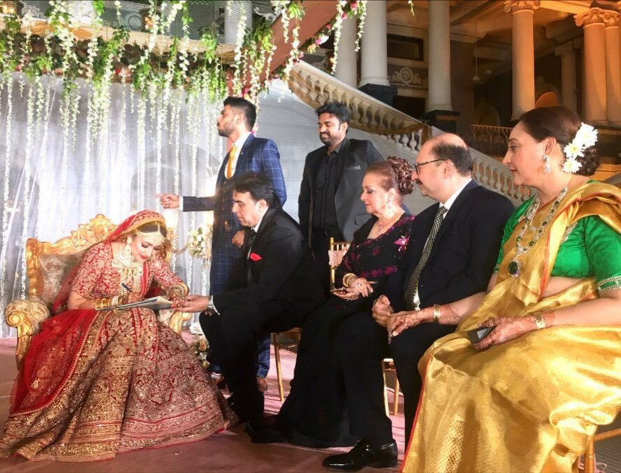 sayesha wedding thinatamil -