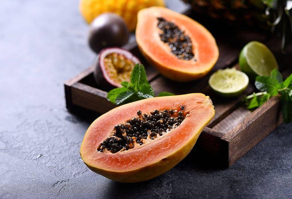 papaya-cures-mouth-sore
