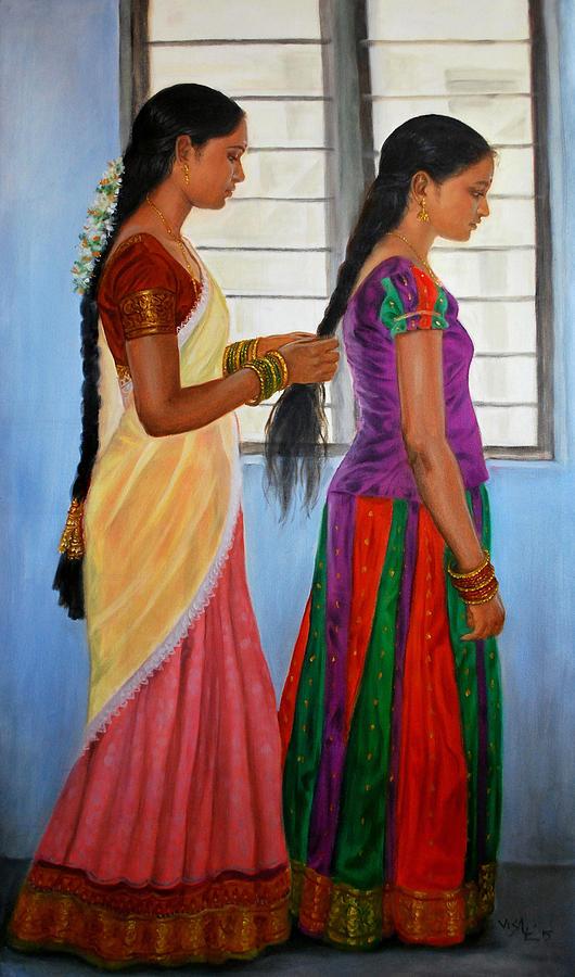 tamil-combing hair-thinatamil