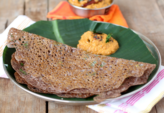 ragi dosa-thinatamil