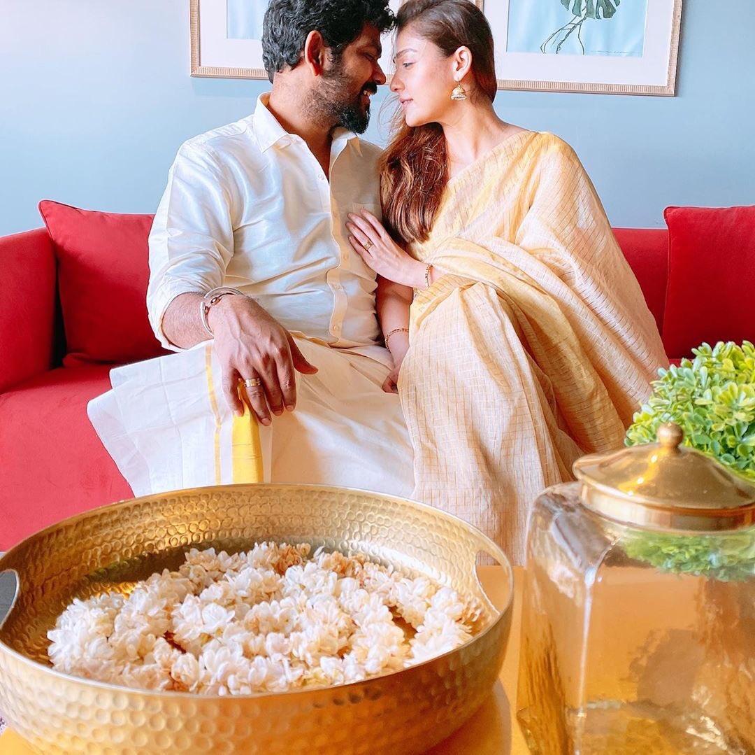 nayanthara onam with love