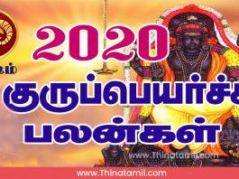 மேஷம் குரு பெயர்ச்சி பலன்கள் 2020, Guru Peyarchi 2020 Mesham 2021 வரை
