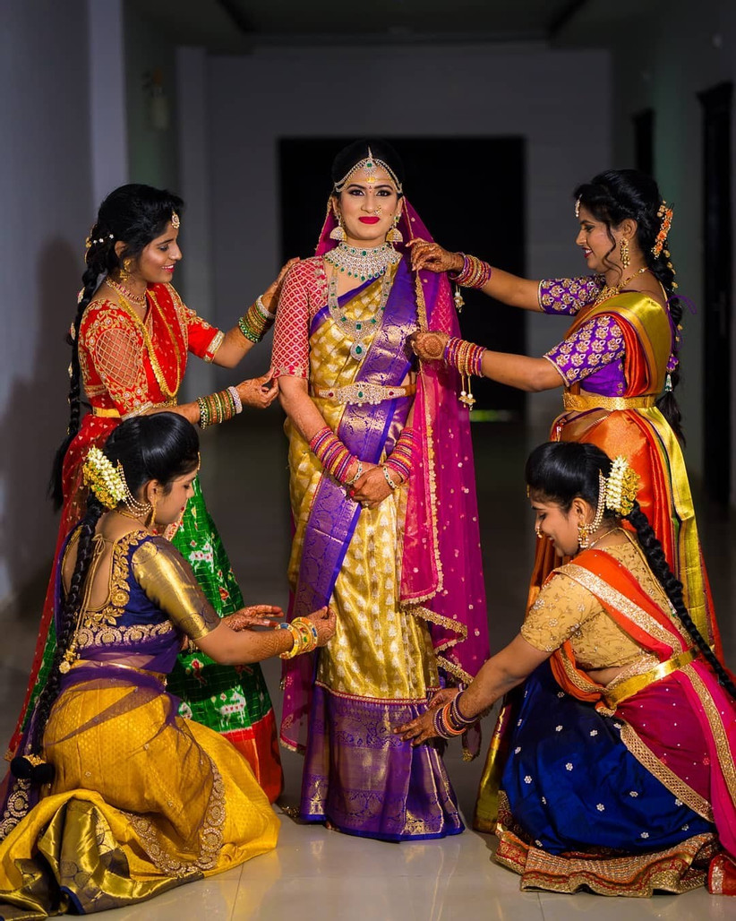 why wearing pattu sarees