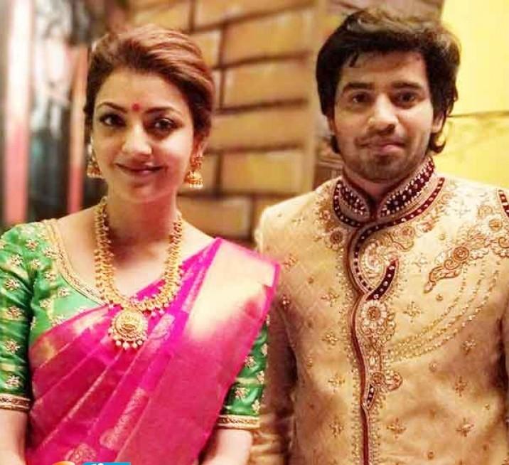 actor akilan with kajal agarwal