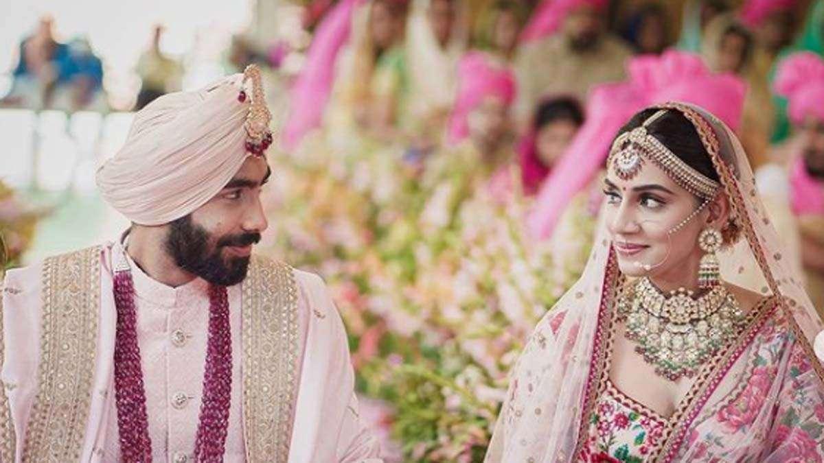 bumrah sanjana wedding