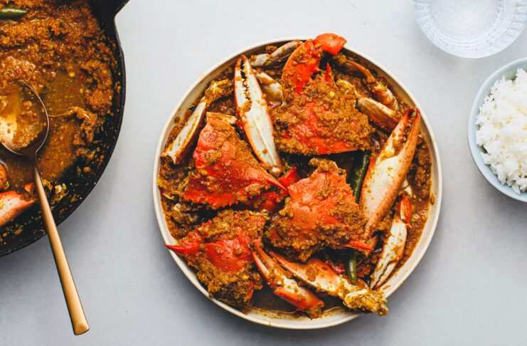 Benefits for crab curry