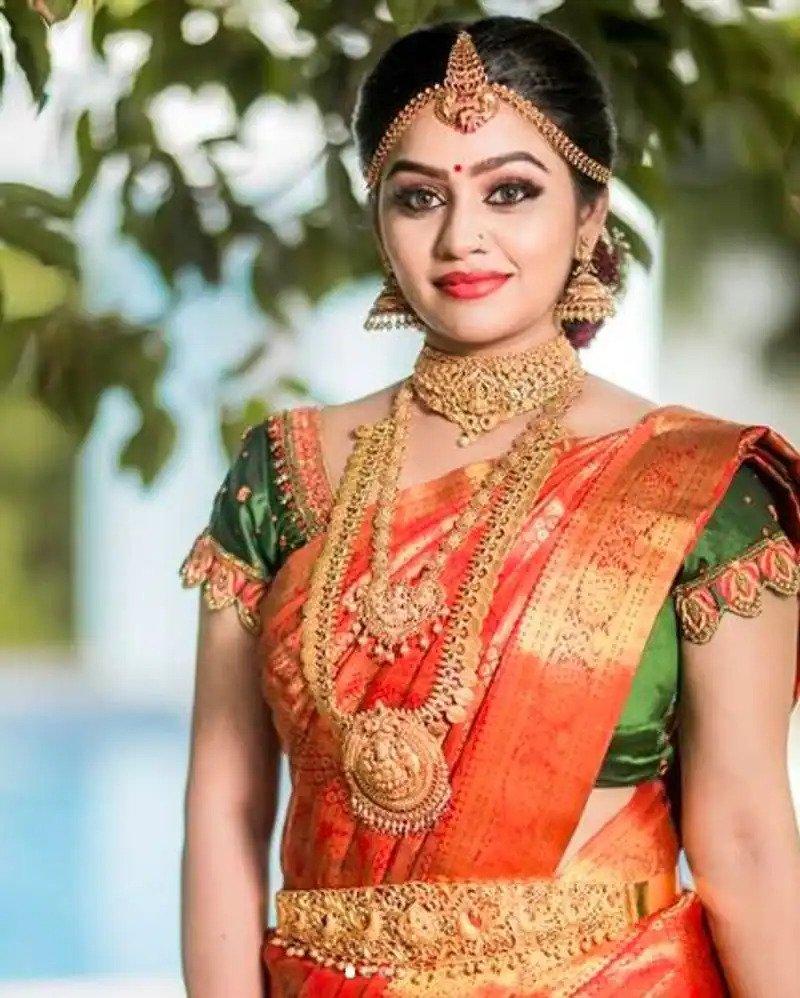 wedding saree thinatamil -